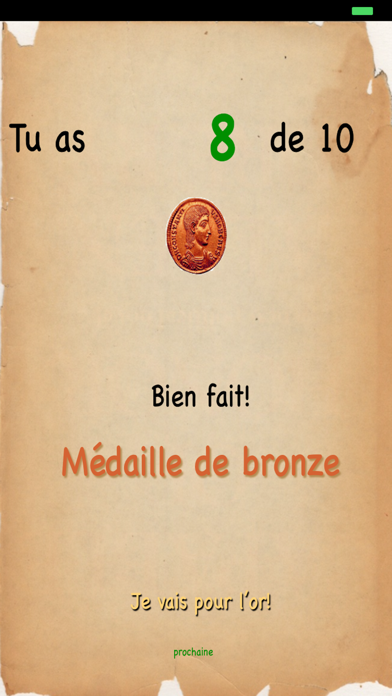 Screenshot for Chiffres Romaines in Belgium App Store