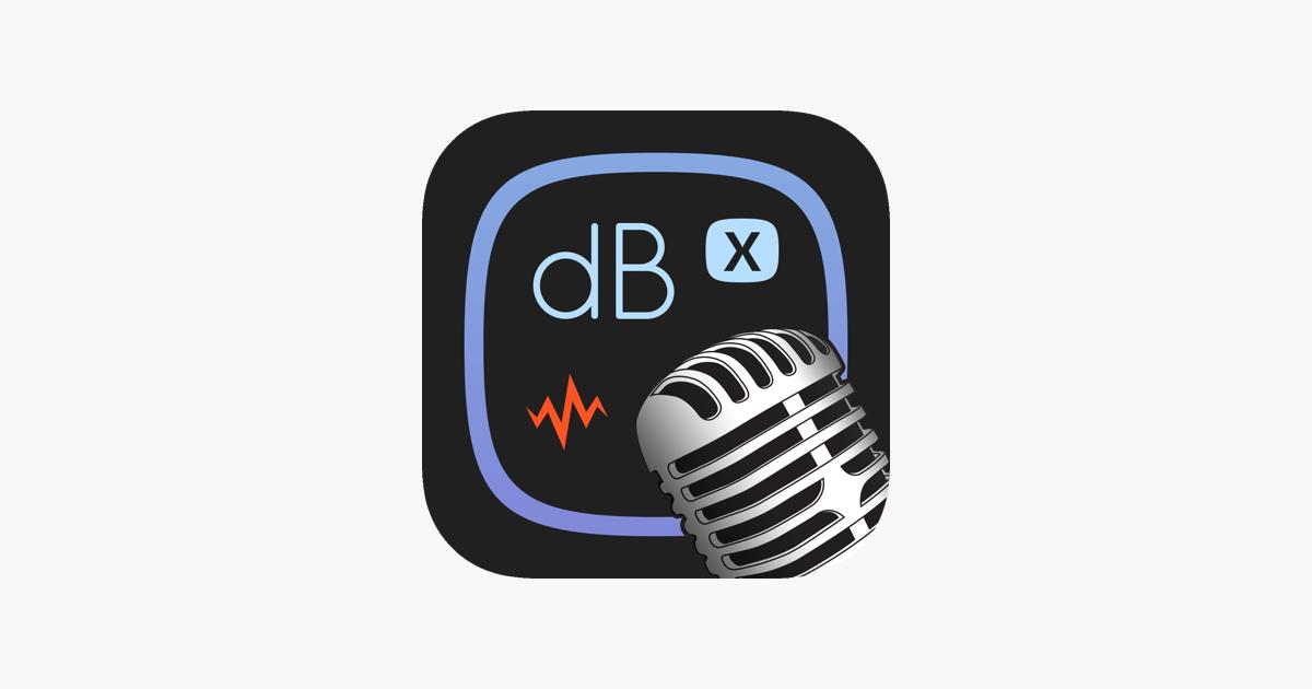 Decibel X - dB Sound Meter on the App Store a1c30aee65