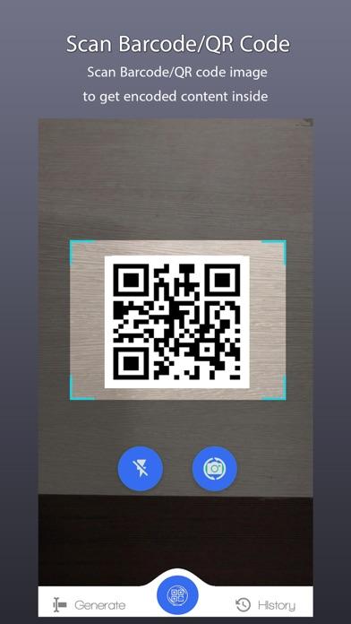 QR Code & Barcode Scanner. Screenshot