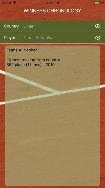 World Tennis Winners screenshot-4