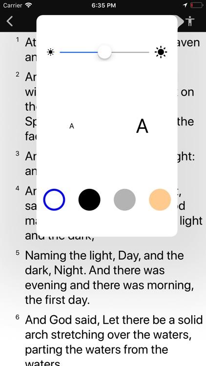 Bible Widget screenshot-5