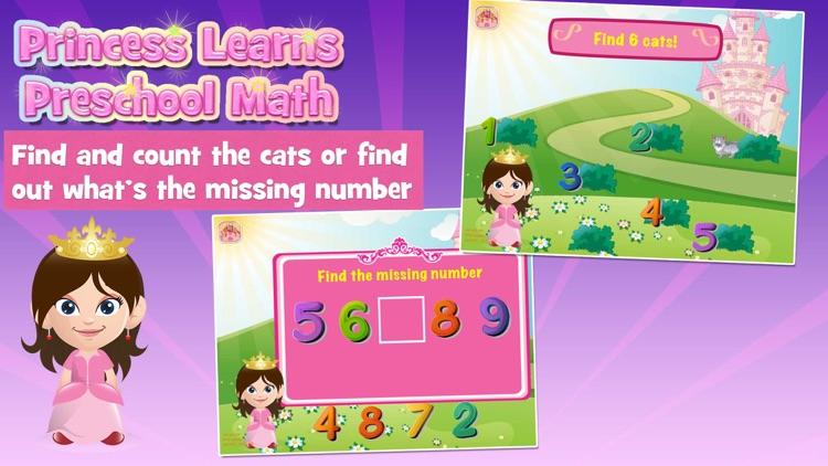 Princess Learns Math for Kids screenshot-3
