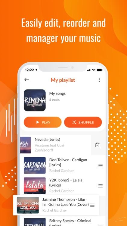 Upbeat: Music Streaming Player screenshot-4