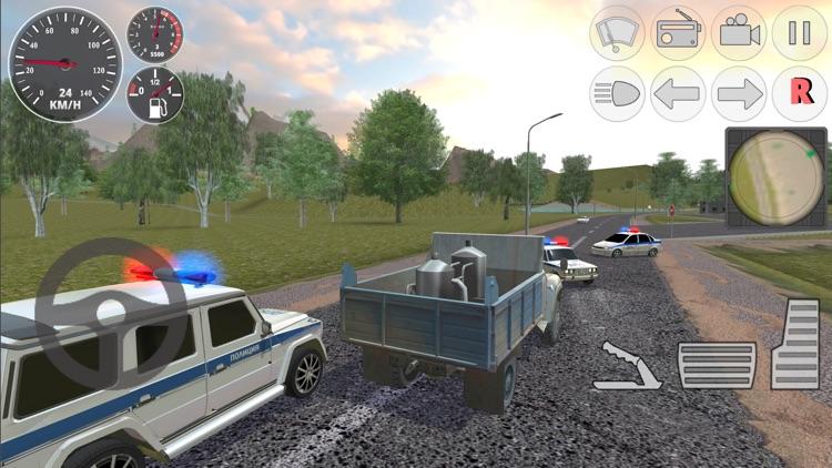 Hard Truck Driver Simulator 3D screenshot-3