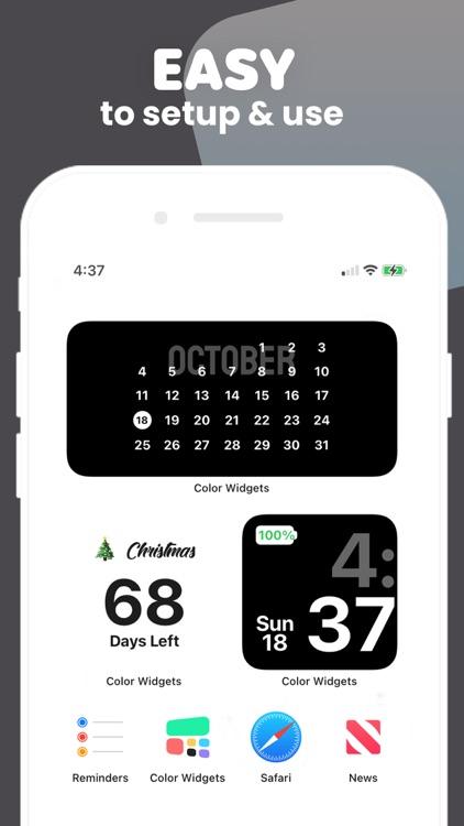 Color Widgets screenshot-3