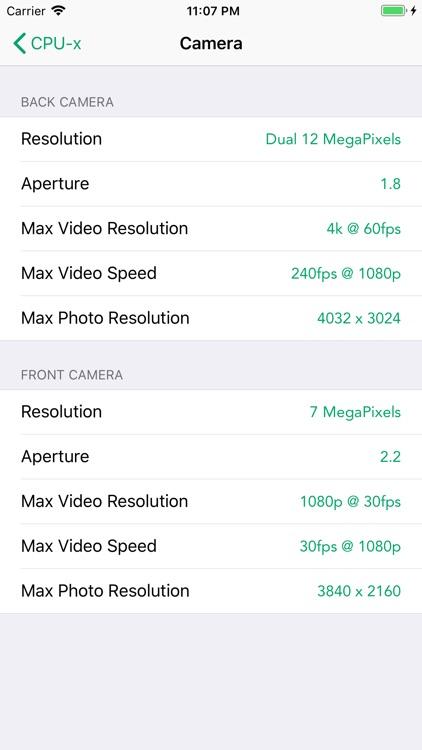 CPU-x Dasher z Battery life screenshot-8