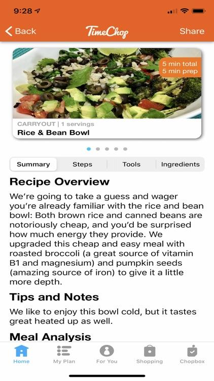 TimeChop Real Food Recipes screenshot-5