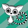 Cute Lemur Stickers