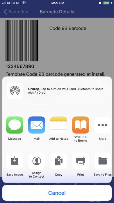 Barcode Meta screenshot 5