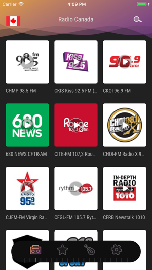 Canada Radio - Live FM Player on the App Store