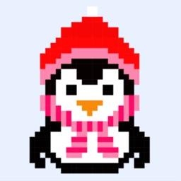 Pixel land: jeu de coloriage