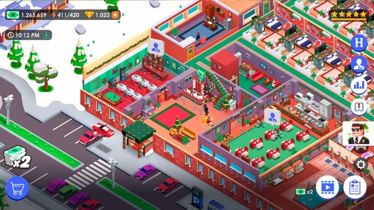 Hotel Empire Tycoon-Idle Game screenshot-5
