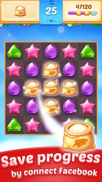 Jewel Town - Match 3 Games screenshot-3