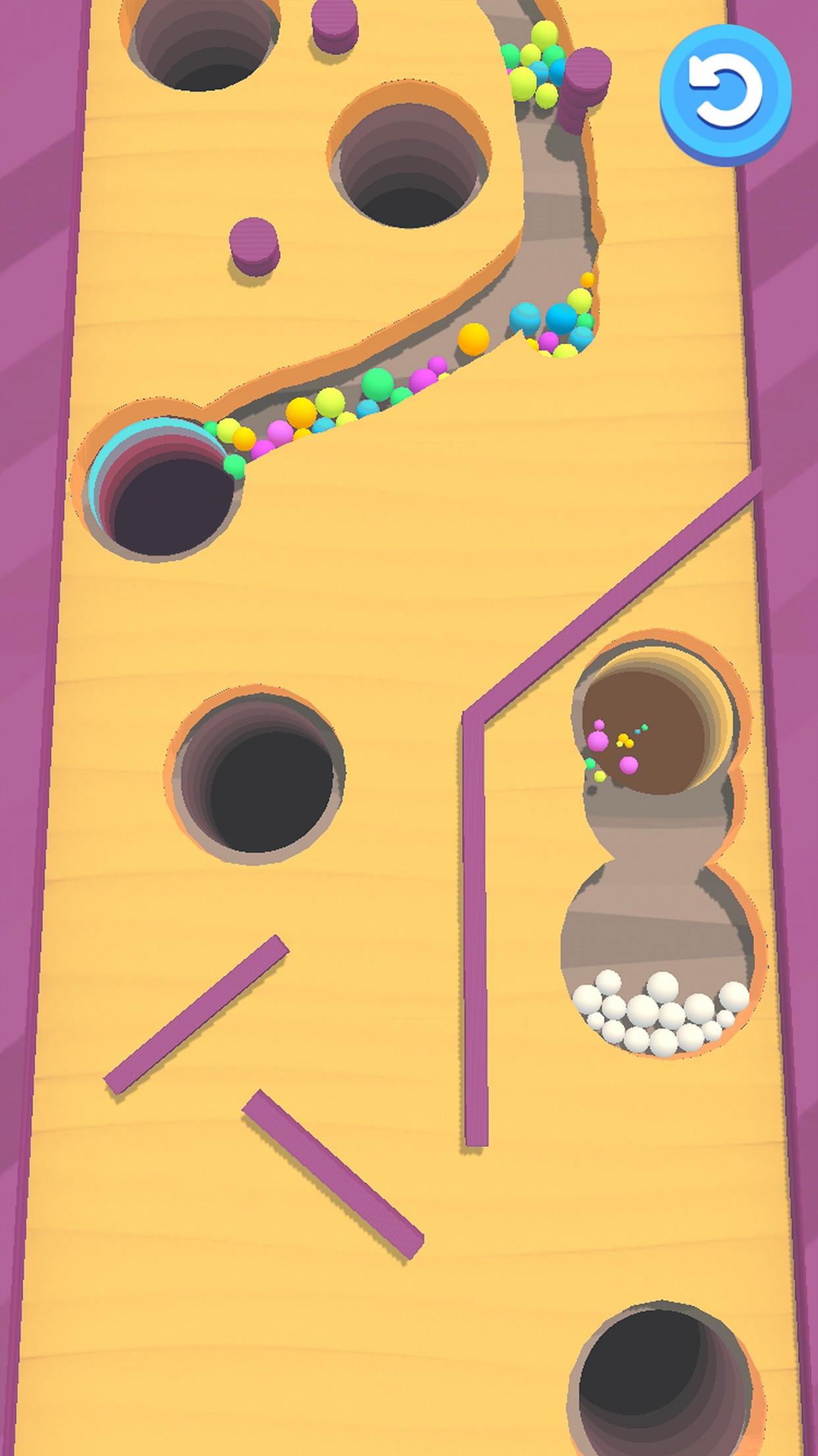 Sand Balls - Digger Puzzle Screenshot