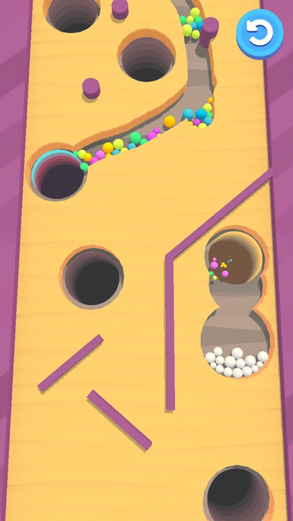 Sand Balls - Digger Puzzle