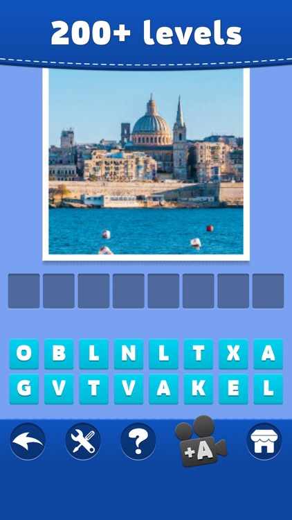 Cities Quiz - Word Puzzle Game