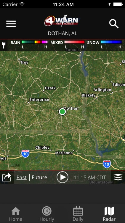 WTVY-TV 4Warn Weather screenshot-3