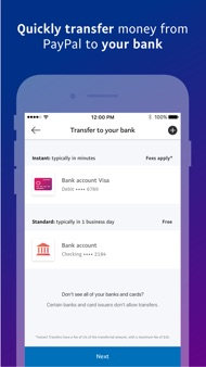 PayPal: Mobile Cash iphone images