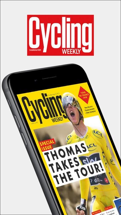 Cycling Weekly Magazine INTスクリーンショット