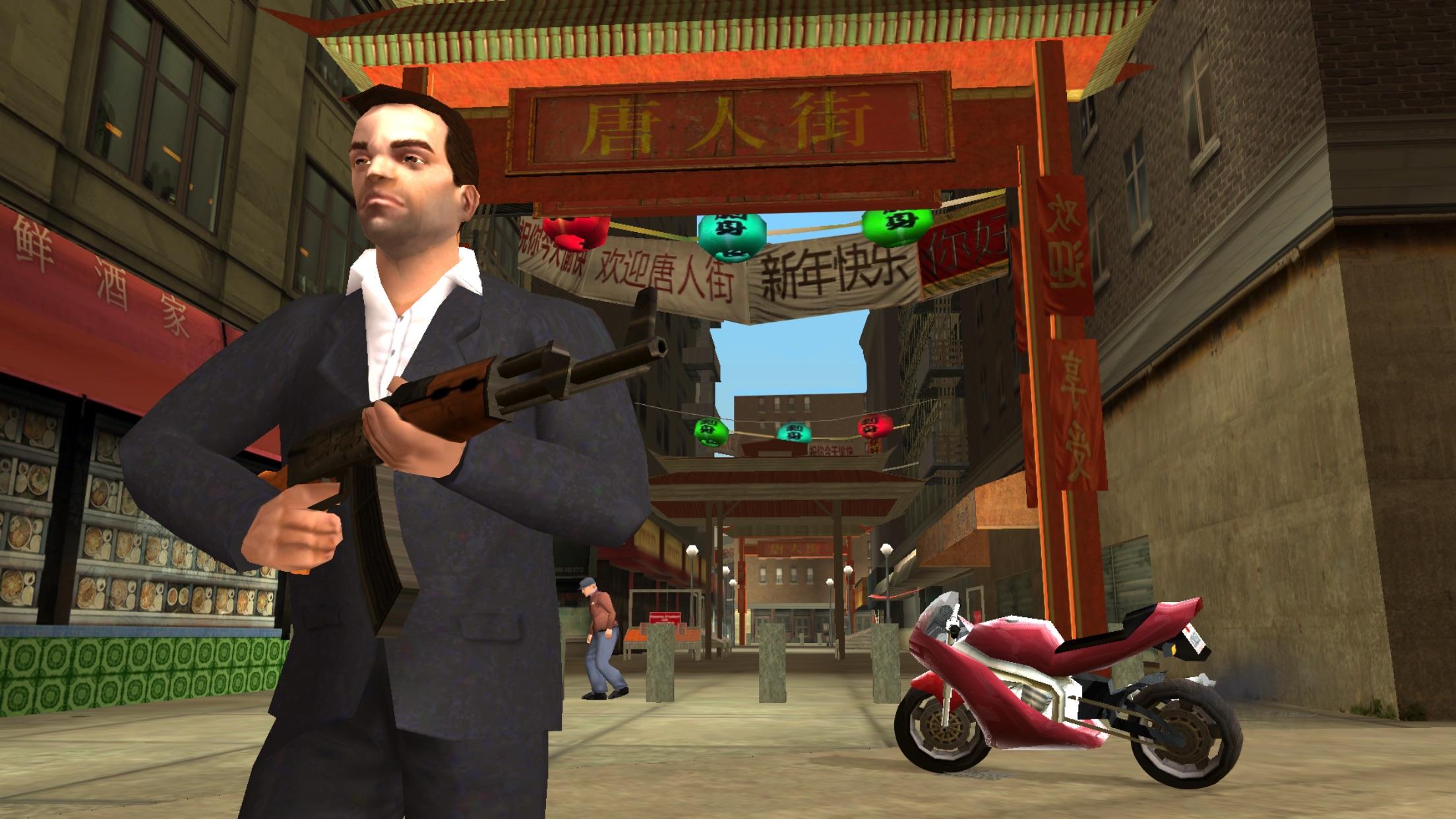 Screenshot do app GTA: Liberty City Stories