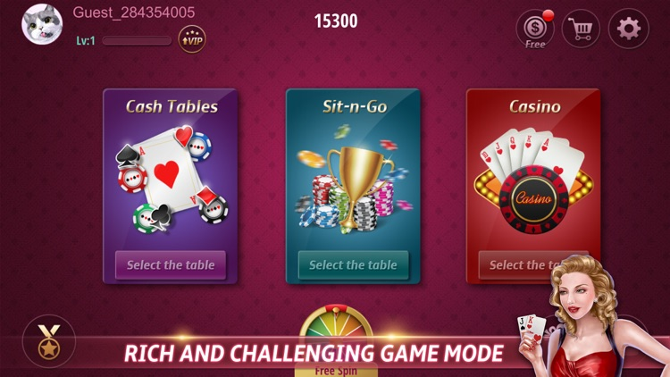 Lucky Poker - Texas Holdem screenshot-4