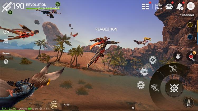 Blade&Soul Revolution screenshot-7