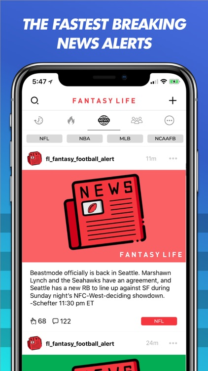 Fantasy Life: Alerts + Advice screenshot-0