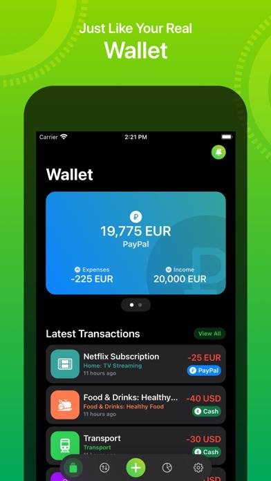 Walletry Screenshots