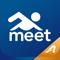 App Icon for Meet Mobile: Swim App in Finland IOS App Store