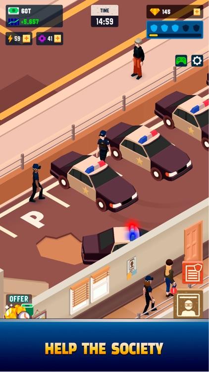 Idle Police Tycoon - Cops Game screenshot-3
