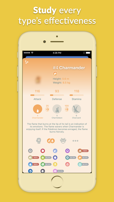 Pocketdex for Pokémon GO Screenshot