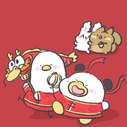 春节快乐鸭