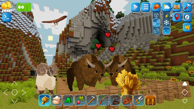 PrimalСraft 3D: Block Building screenshot-5