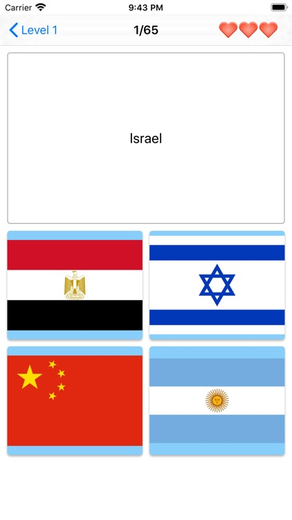 Flags of the world - Quiz