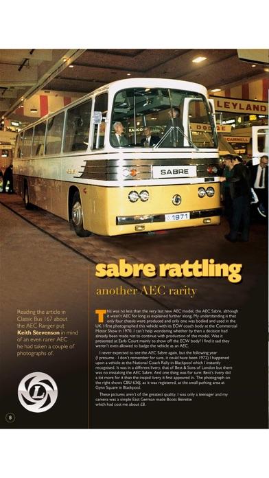 Classic Bus MagazineScreenshot of 2