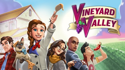Vineyard Valley: Design Game Screenshot