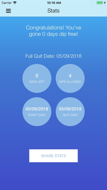 DipQuit: Quit Dipping Tobacco screenshot-6