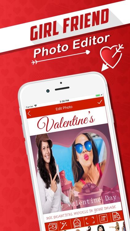 Girlfriend Selfie Editor screenshot-4
