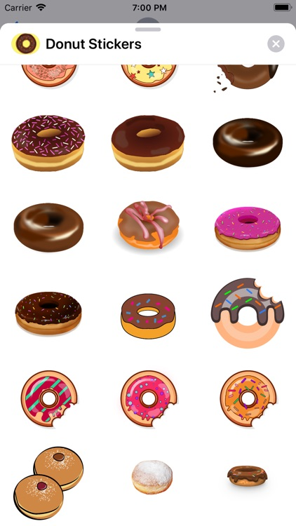Lotsa Donut Stickers screenshot-1