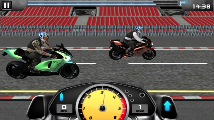 MotorBike Drag Racing screenshot-3