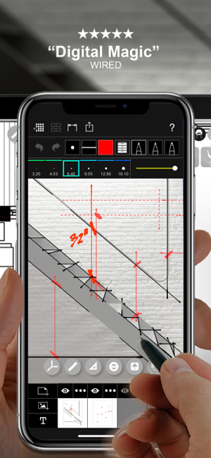 ‎Morpholio Trace - Skizze CAD Screenshot