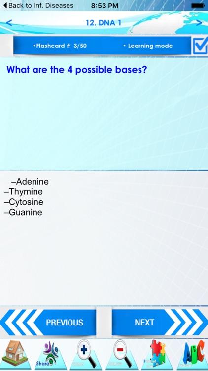 Advanced Biology +2000 Quizzes screenshot-4