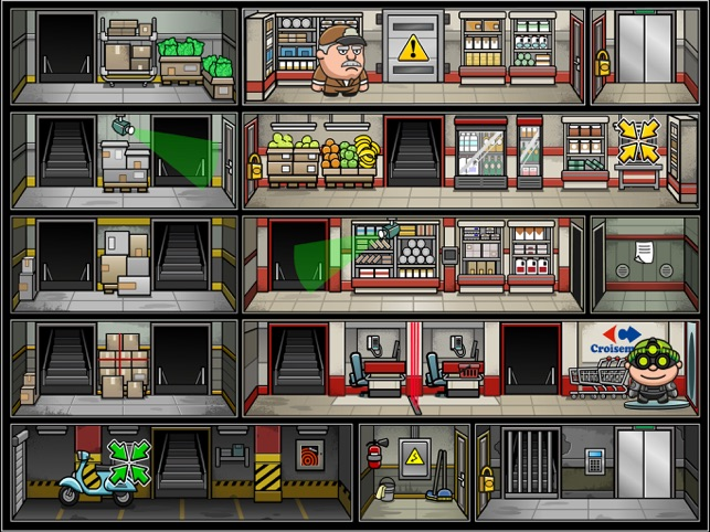 Bob The Robber 4, game for IOS
