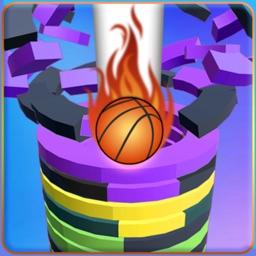 Helix stack Ball jump 3d