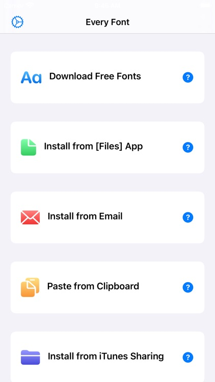 EveryFont : Install Any Font screenshot-0