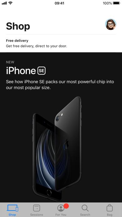 Apple Store screenshot one