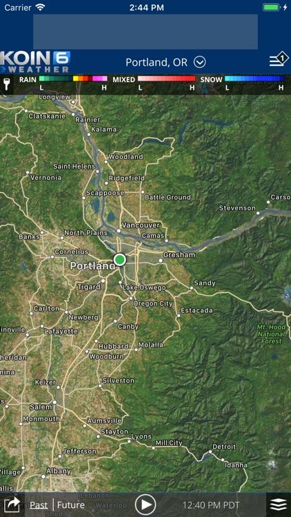 PDX Weather - KOIN Portland OR screenshot-3