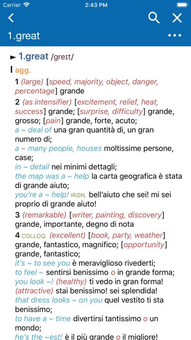 Conc. Oxford Italian Dict.のおすすめ画像1
