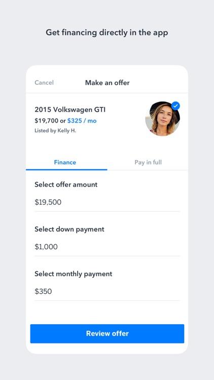 Blinker: Buy, sell & refi cars screenshot-3