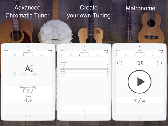 Guitar, Bass & Ukulele Tuner | App Price Drops